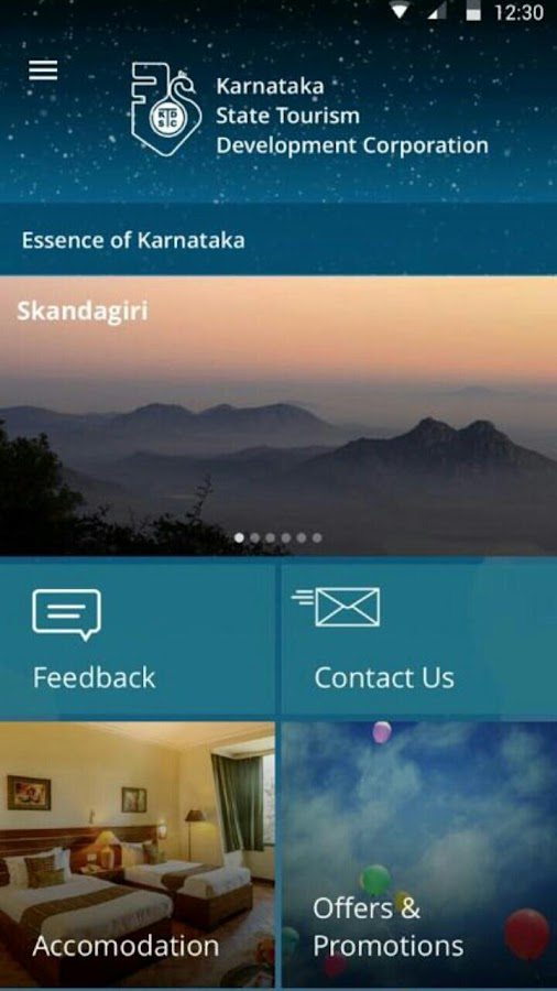 KSTDC - Karnataka Holidays- screenshot