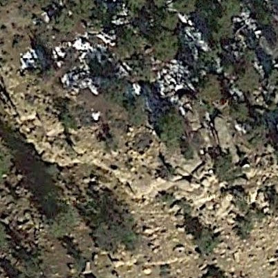 Photo: Satellite image of the first watchtower