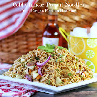 Cold Chinese Peanut Noodles.