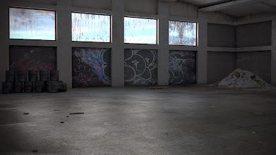 "Photo: ""napušteni hangar"""