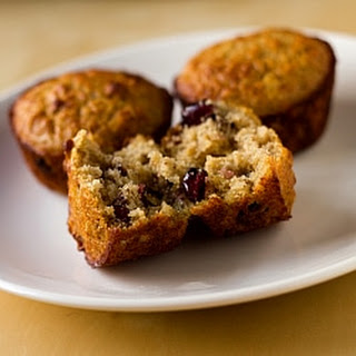 Oatmeal Muffins with Dates, Cranberries and Pecans.