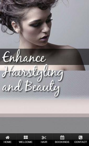 Enhance Hairstylist & Beauty- screenshot