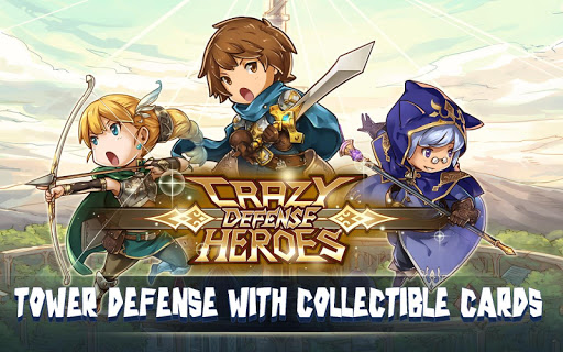 Crazy Defense Heroes: Tower Defense Strategy TD 1.9.9 screenshots 9