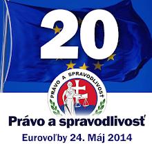 Photo: Voľby do Europskeho parlamentu, Martin Daňo, strana Právo a spravodlivosť, nezávislý kandidát,  www.martindano.com/euro2014