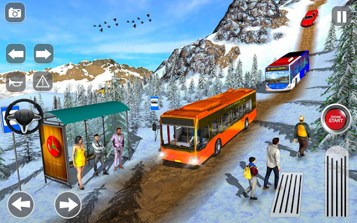 Offroad Coach Tourist Bus Simulator 2020 apktram screenshots 2