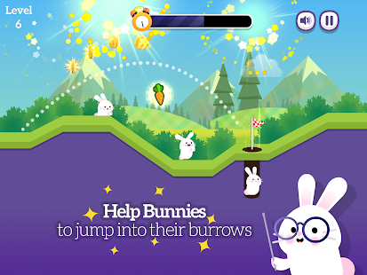 Bunny Golf- screenshot thumbnail