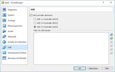 USB 3.0 aktivieren