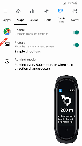 Notify & Fitness for Mi Band modavailable screenshots 2