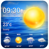 detailed weather report widget