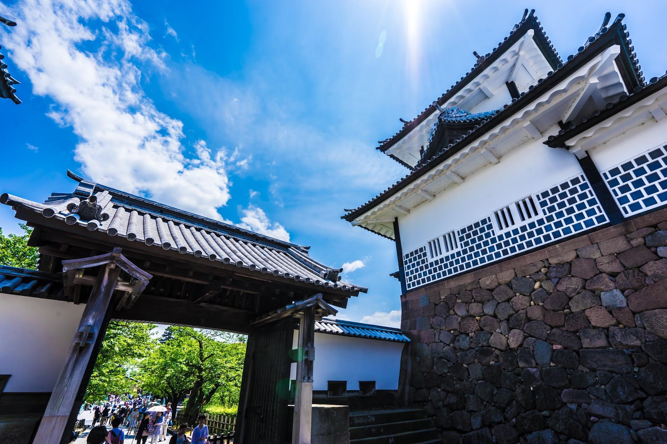 金沢城公園 石川門3