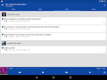DoggCatcher Podcast Player Screenshot 12