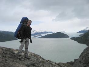 Photo: Der Gletscher Grey