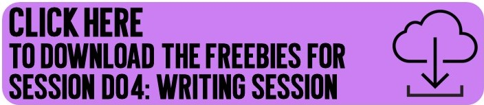 Click here to get the writing session freebies emailed to you!