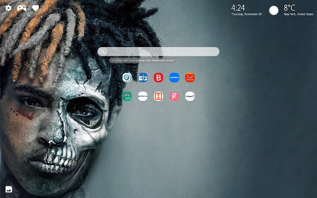 RIP XXXtentacion Wallpaper HD New Tab Themes