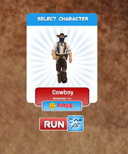 Wild West Runner 3D - Endless- screenshot thumbnail