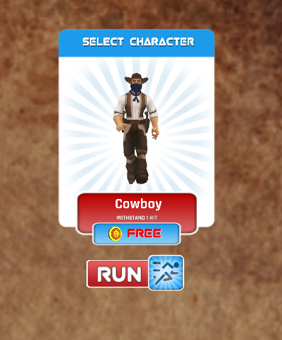 Wild West Runner 3D - Endless- screenshot