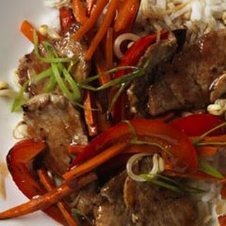Sweet and Sour Pork and Vegetable Stir-Fry