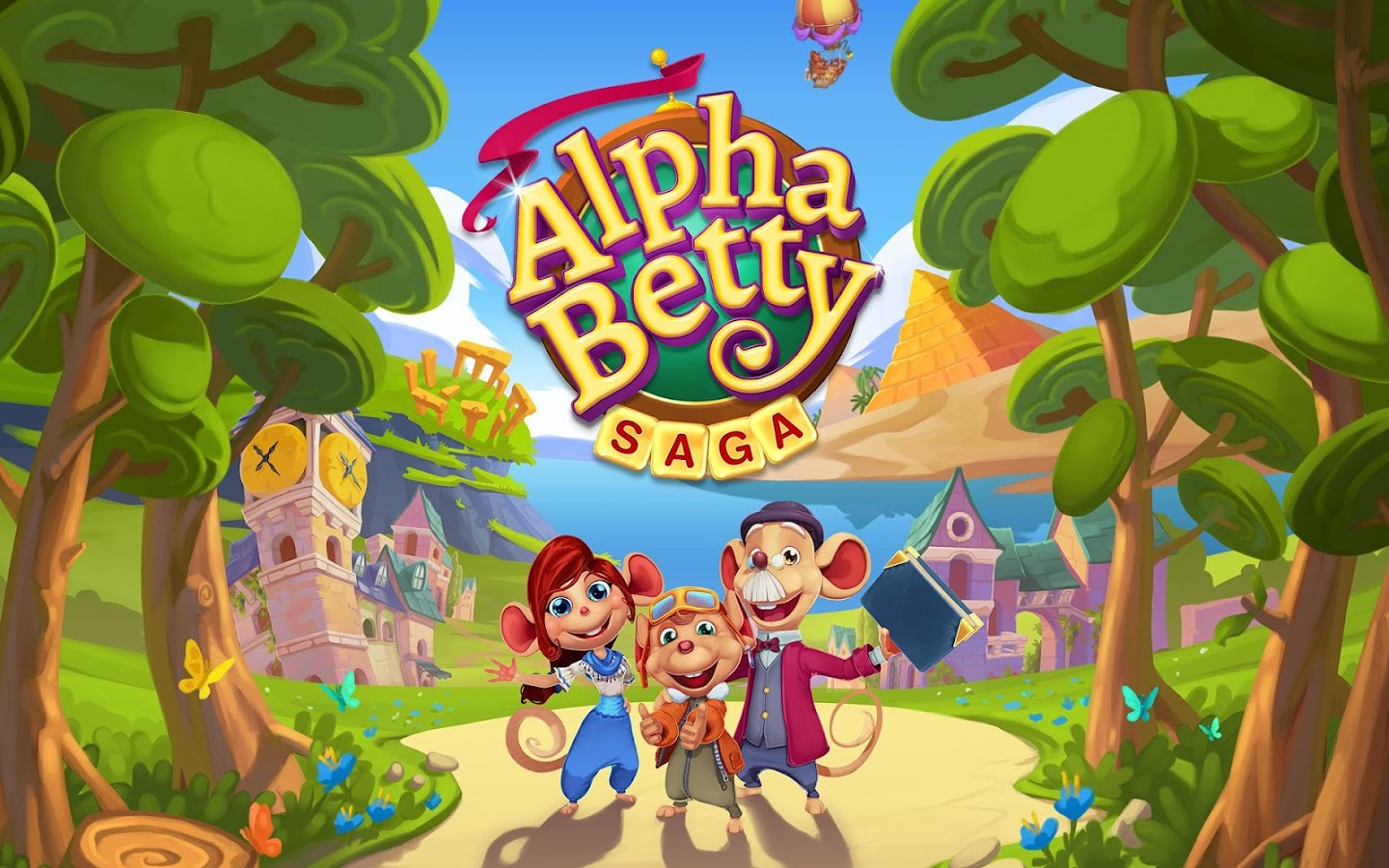 AlphaBetty Saga- screenshot