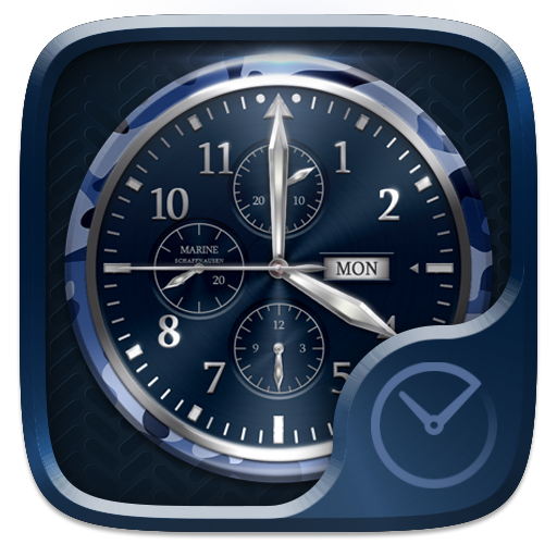 Marine Go Clock Theme