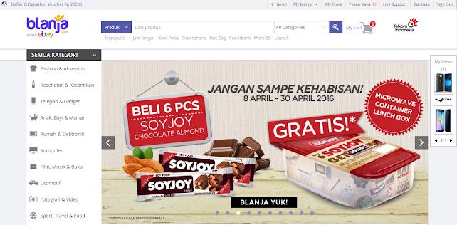 Halaman Utama Blanja.com