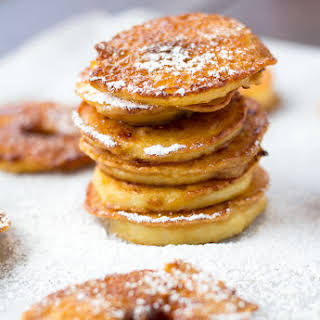 Apple Fritters with Caramelized Coconut Sugar.