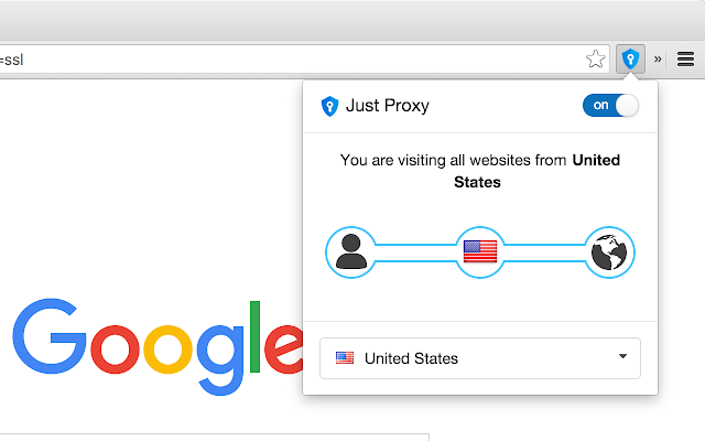 Just Proxy VPN = hide IP + security + unblock
