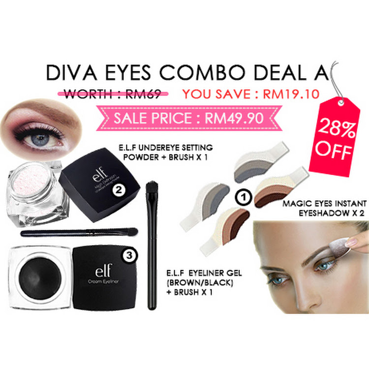 Diva Eyes Combo A by Supermodels Secrets