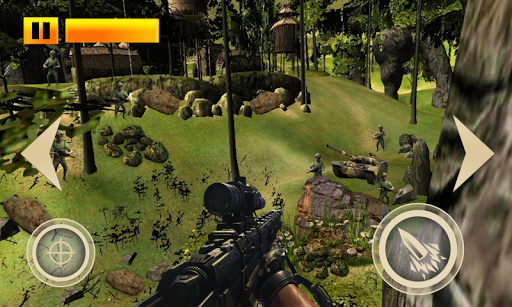 Mountain Sniper Shooting Game