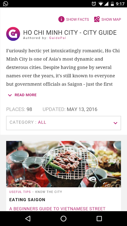 Ho Chi Minh City Guide- screenshot
