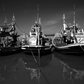 Puger Traditional Boat by 'Erizal Harnas' - Transportation Boats