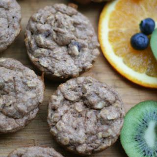Applesauce Oatmeal Muffins (vegan)