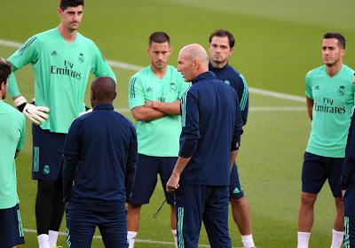 """Zidane doet uitspraken van Benzema over Vinicius -'Hij speelt tegen ons'- af als klein voorval: """"Over mij wordt ook gepraat"""""""