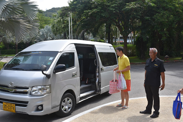Pickup by minivan from the hotel in Phuket