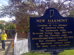 Photo: Main Street, New Harmony IN