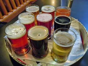 Photo: 9 x beer sampler!