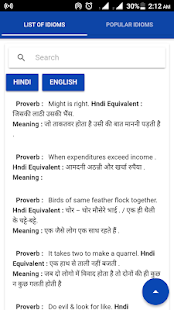 Idioms in Hindi and English - náhled