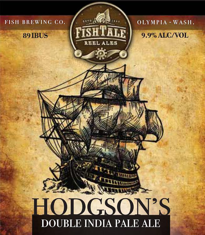 Logo of Fish Tale Hodgson's Double IPA
