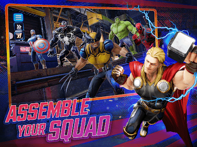 MARVEL Strike Force Mod Apk – Squad RPG 7