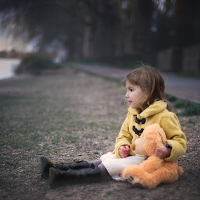 waiting by Lazarina Karaivanova - Babies & Children Child Portraits