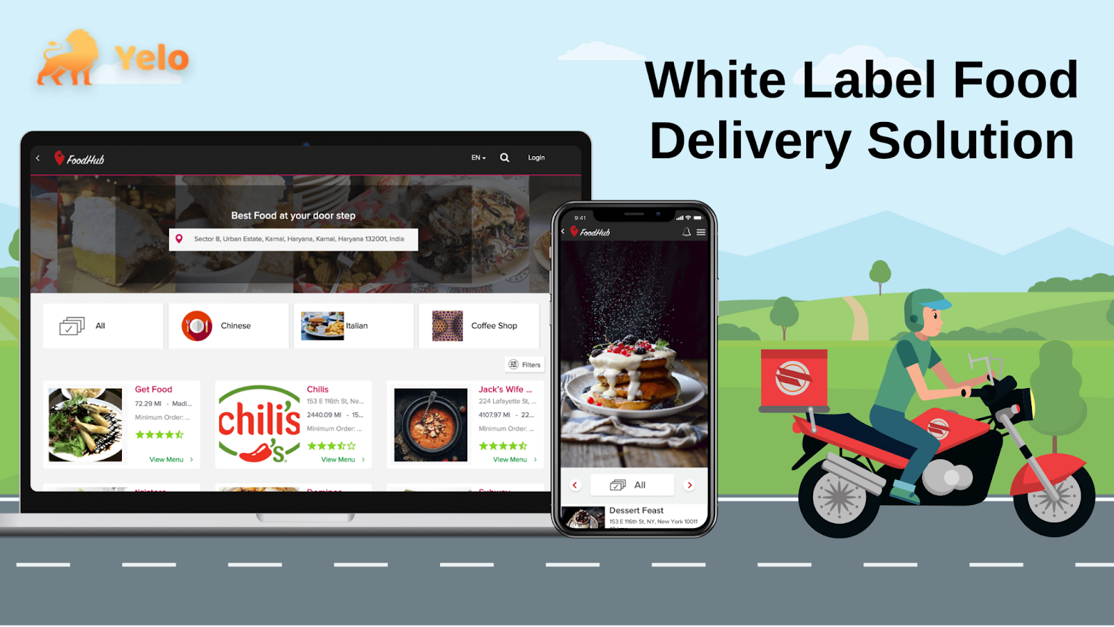 Why White Label Food Delivery Solution Is The Best? - Jungleworks
