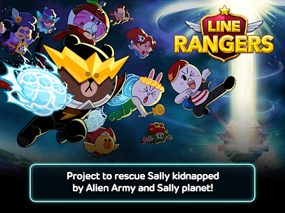 LINE Rangers – simple rules, exciting RPG battles! 10