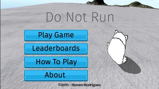 Do Not Run - Polar Bear Chaser