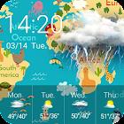 Local Weather & Clock Widget icon