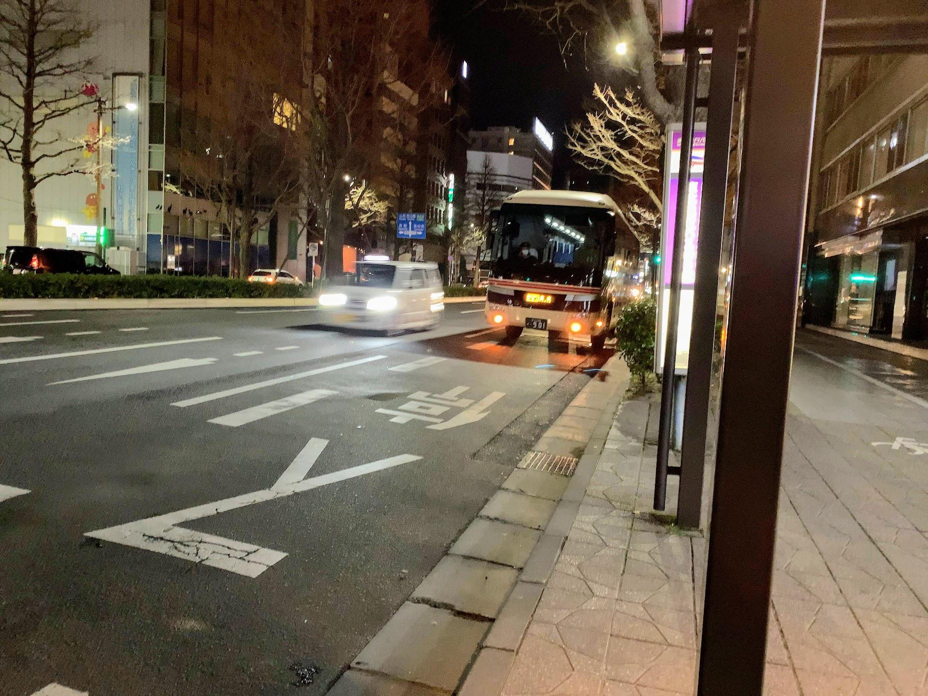 ホリデースター号に乗ってきました(仙台発東京行き夜行バス)