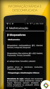 Intoxicações: Manual médico - screenshot thumbnail