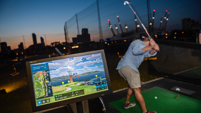 Players can use the Inrange app to track how they are playing and optimise their skills.