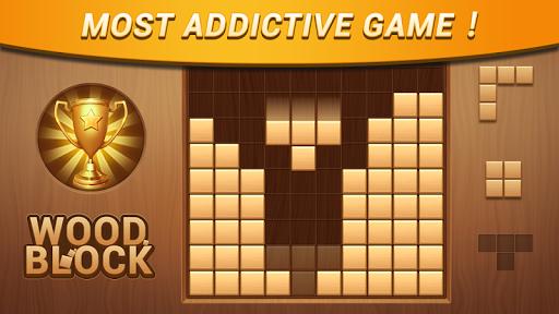 Wood Block - Classic Block Puzzle Game apktram screenshots 6