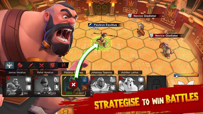 Gladiator Heroes v1.7.2 [Mod]