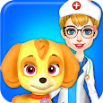 Fluffy Pets Vet Doctor Care apk