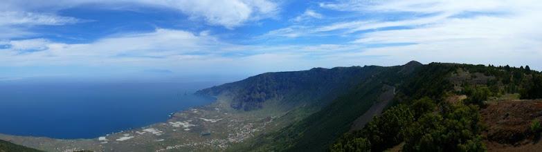 Photo: Panorama vom Pico Malpaso